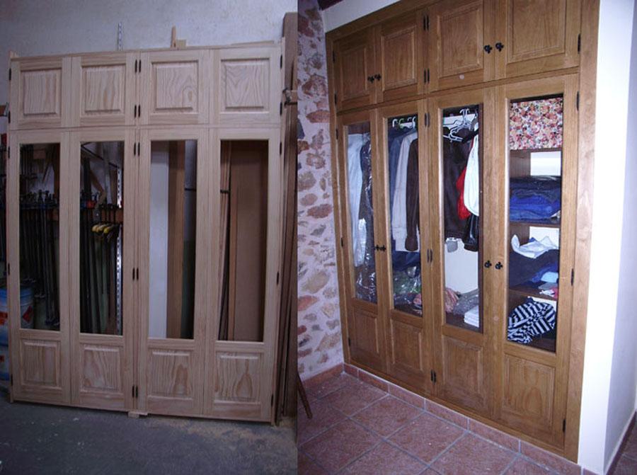 Carpinteria hernandez for Medidas de puertas interiores