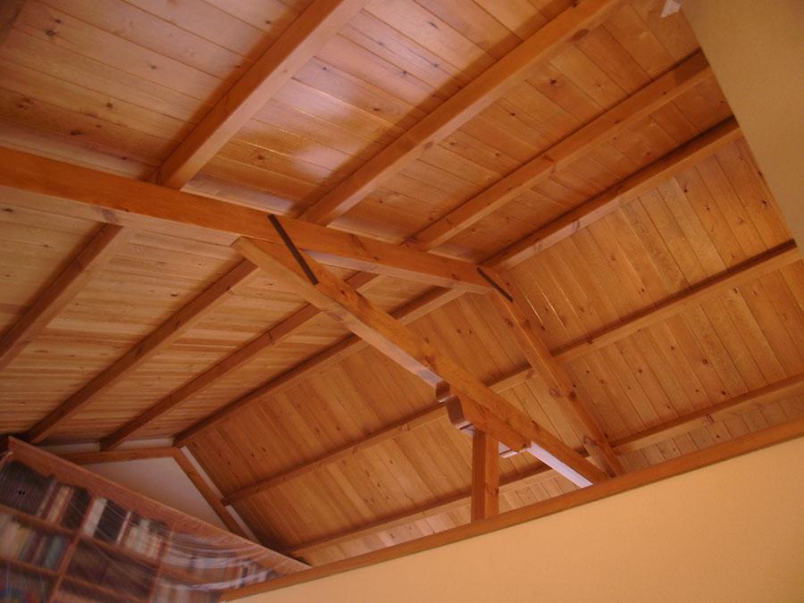 Carpinteria hernandez for Carton para techos de madera